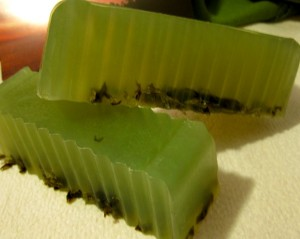 seaweed melt and pour soap recipe by lisa maliga